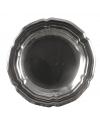 Zilveren ronde schaal 45 cm