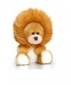 Zittende beer in leeuwen onesie 14cm
