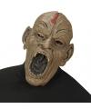 Zombie masker met open mond voor volwassenen