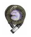 Zware kwaliteit kettingslot groen 22 mm