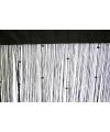 Zwart draadgordijn 100 x 250 cm