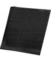 Zwart karton vel 48 x 68 cm