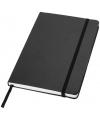 Zwart notitie boek gelinieerd a5 formaat