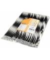 Zwart wit shake rietjes 100 stuks 25cm