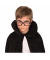 Zwarte bril met ronde glazen