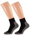 Zwarte hardloop sokken maat 45 47