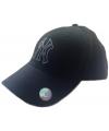 Zwarte ny yankees bling baseballcap