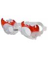 Zwembril met krab oogjes voor kinderen groen
