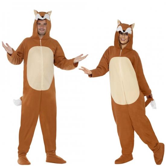79b1779b923 Onesie vos voor volwassenen voor maar € 29.95 bij Viavoordeel