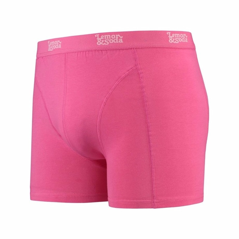 Roze boxershort Lemon and Soda