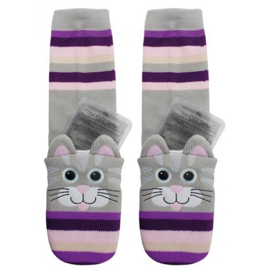 Warmte sokken kat voor kinderen