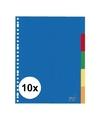 10x a4 tabbladen sets 23 gaats