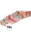 10x disney inpakpapier pakket voor kinder cadeautjes 200 x 70 cm