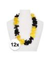 12x hawaii slinger geel zwart