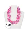 12x hawaii slinger roze paars