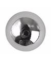 15 zilveren ronde kralen 8 mm