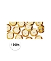 1500x pailletten goud 6 mm