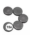 15x ronde magneten 20 x 5 mm