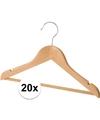 20 luxe houten kledinghangers