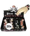 20x piraten armbandjes voor kinderen