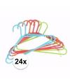 24 plastic kinder kledinghangers