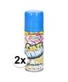 2x blauwe serpentine spray 53 ml
