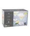 2x luxe cocktailglazen voor chique dranken 270 ml