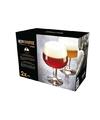 2x speciaal bier glazen kelkvormig 660 ml