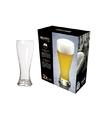 2x speciaal bierglas voor wit en lichte bieren 580 ml