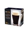 2x speciaal bierglazen voor donker en zware bieren 560 ml