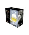 2x speciaal bierglazen voor licht bier 580 ml
