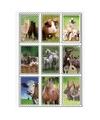3d stickers boerderijdieren 9 stuks