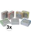 3x bingo kaarten 1 75 gekleurd