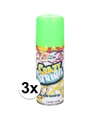 3x groene serpentine spray 53 ml