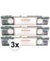 3x nag champa wierook jasmine 15 gram