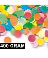 400 gram confetti multicolor
