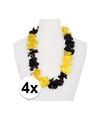 4x hawaii slinger geel zwart