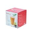 4x hoge smoothie glazen 400 ml