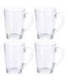 4x koffie thee glazen 320 ml