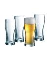 4x speciaal bierglas voor wit en lichte bieren 330 ml