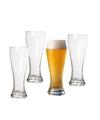 4x speciaal bierglas voor wit en lichte bieren 580 ml