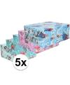 5x frozen inpakpapier 200 x 70 cm