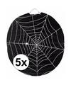 5x spinnenweb lampionnnen 22 cm