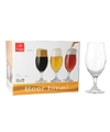 6x speciaal bier glazen 530 ml