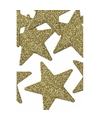 8 stuks gouden decoratie sterren 5 cm