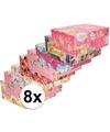 8x disney inpakpapier pakket voor kinder cadeautjes 200 x 70 cm