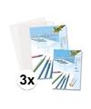 A3 overtrekpapier transparant tekenpapier 75 vellen