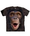 Aap t shirt chimpansee jong voor kinderen