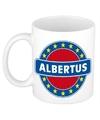 Albertus naam koffie mok beker 300 ml