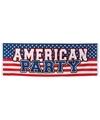 Amerikaanse party banier 2 2 meter